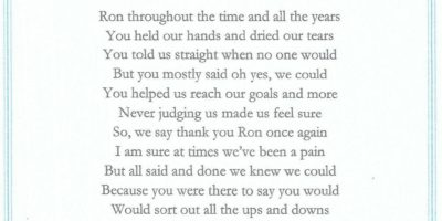 For Ron at One Call testimonial
